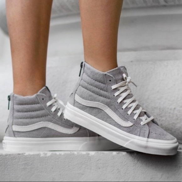 92e431c0f5 Vans Shoes - Vans SK8-HI Slim Zip - Cool grey